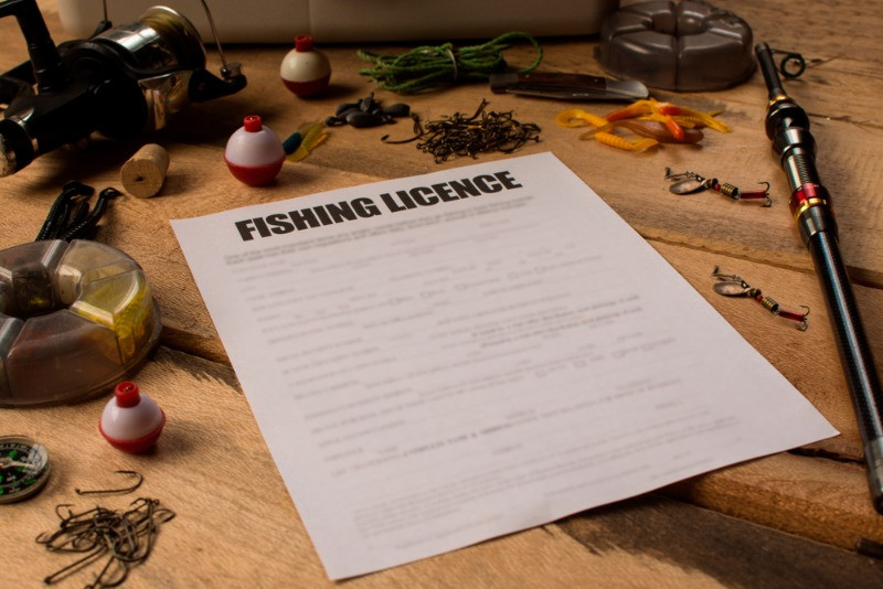example of a fishing license required in Iceland