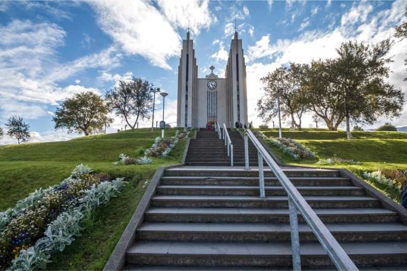 Akureyri Iceland church