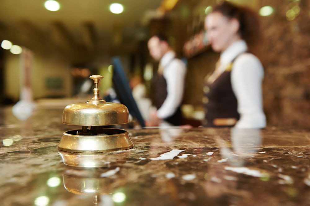 hotel in Iceland reception desk