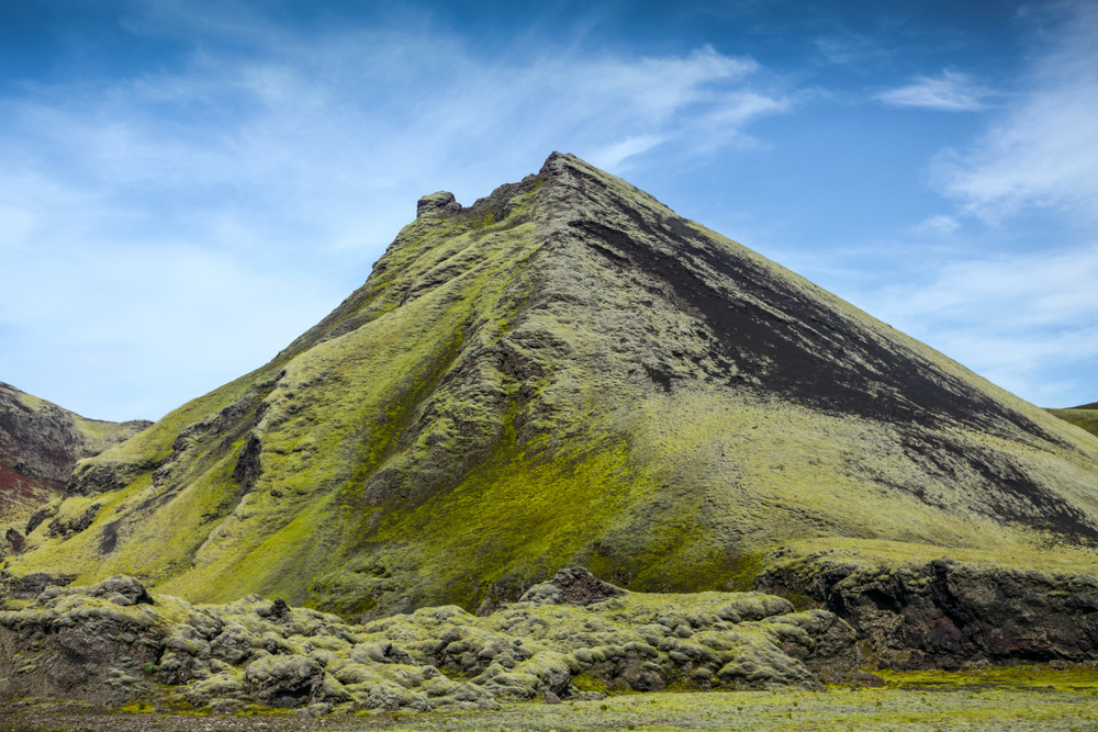 Pendio del vulcano Laki
