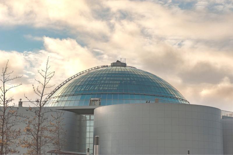 Perlan Observatory in Reykjavik