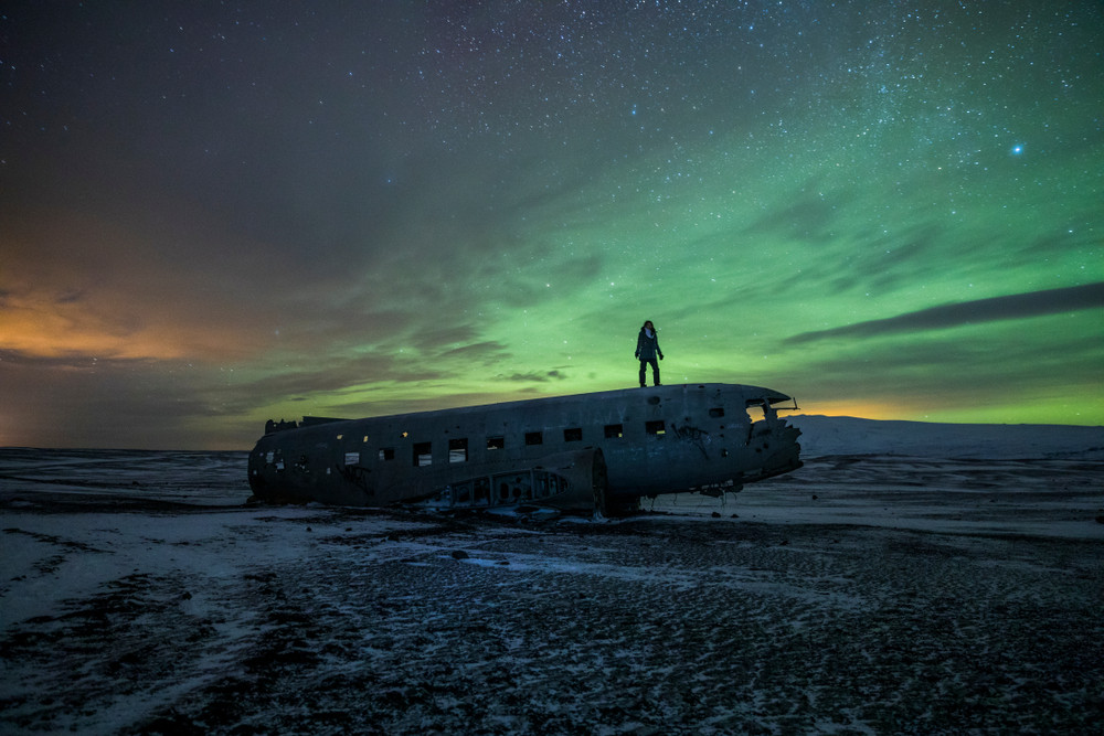 Military plane wrecked in South Iceland - Iceland Demographics