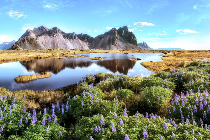 Vestrahorn in Iceland, a great east Iceland attraction