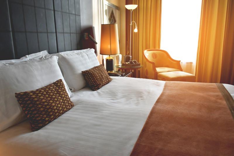 cozy hotel room in Reykjavik, Iceland