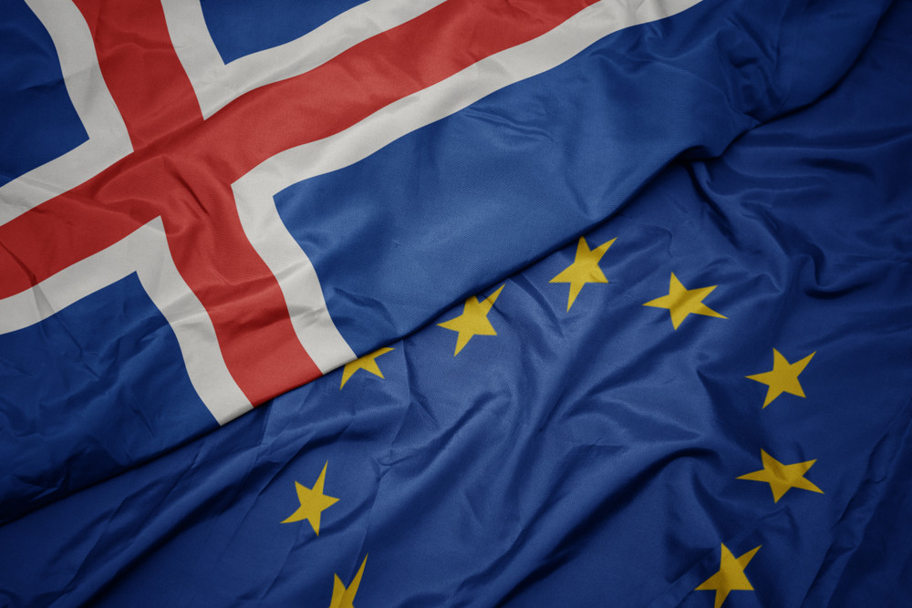 Iceland and EU's Flag - Iceland in the European Union