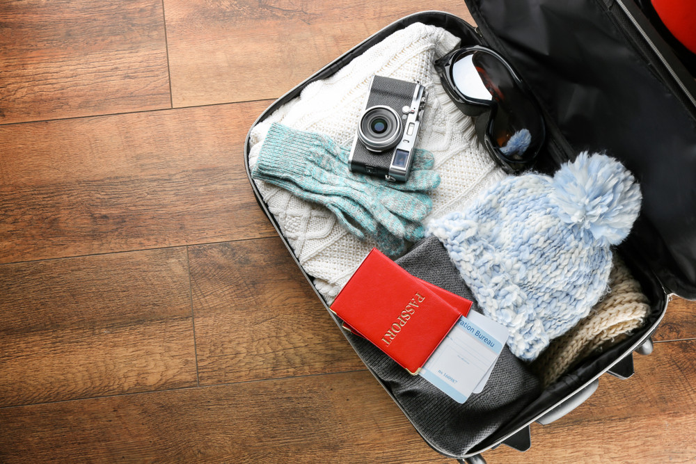valigia invernale per un viaggio islandese