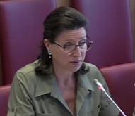 Agnès Buzyn, ministre des Solidarités et de la Santé, devant la Commission des Affaires sociales de