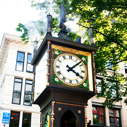 #241 - The Gastown Steam Clock
