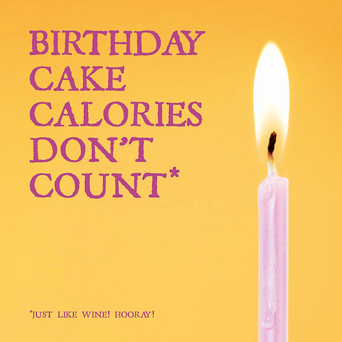 #358 - Birthday Cake Calories Don't Count