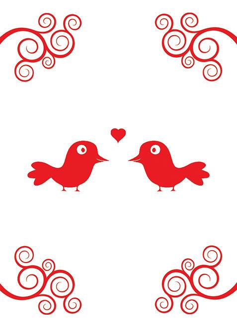 #508 - Love Birds