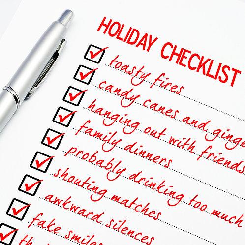 #609 - Holiday Checklist