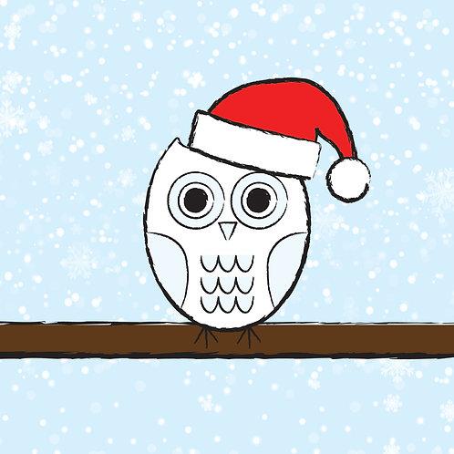 #330 - Christmas Owl