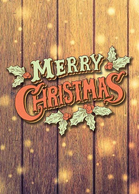 #432 - Merry Christmas Vintage
