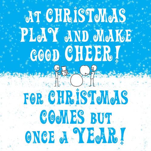 #601 - Play And Make Good Cheer