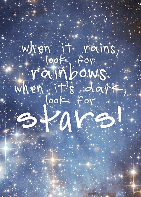 #502 - Look For Rainbows, Look For Stars