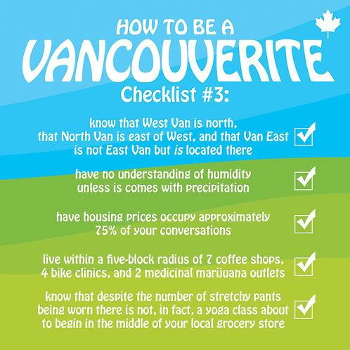 #380 - How To Be A Vancouverite #3