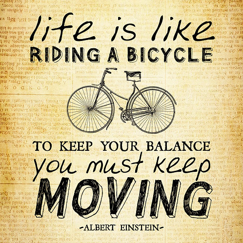 #341 - Life Is Like Riding A Bicycle