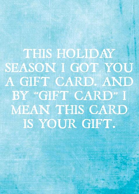 "#406 - ""Gift Card"""