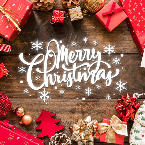 #623 - Merry Christmas Table