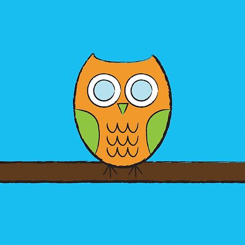 #332 - Orange Owl