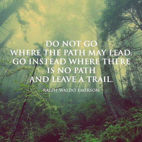 #219 - Leave A Trail