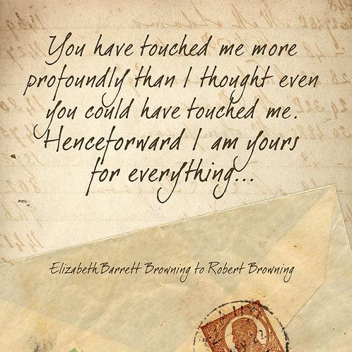 #386 - Henceforward I Am Yours