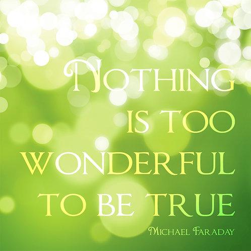 #359 - Nothing Is Too Wonderful