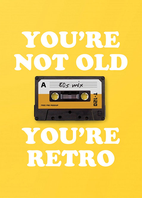 #575 - You're Not Old, You're Retro
