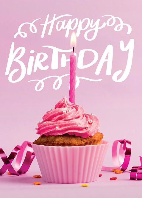#551 - Happy Birthday Cupcake