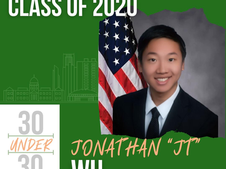 Preface Founder JT Wu Named to the YNPN Atlanta 30 Under 30 Class of 2020