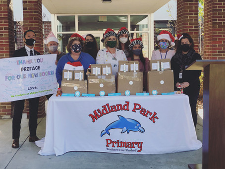 Preface Donates Holiday Legacy Gift of Multilingual Books, Healthcare Materials to SC Partners