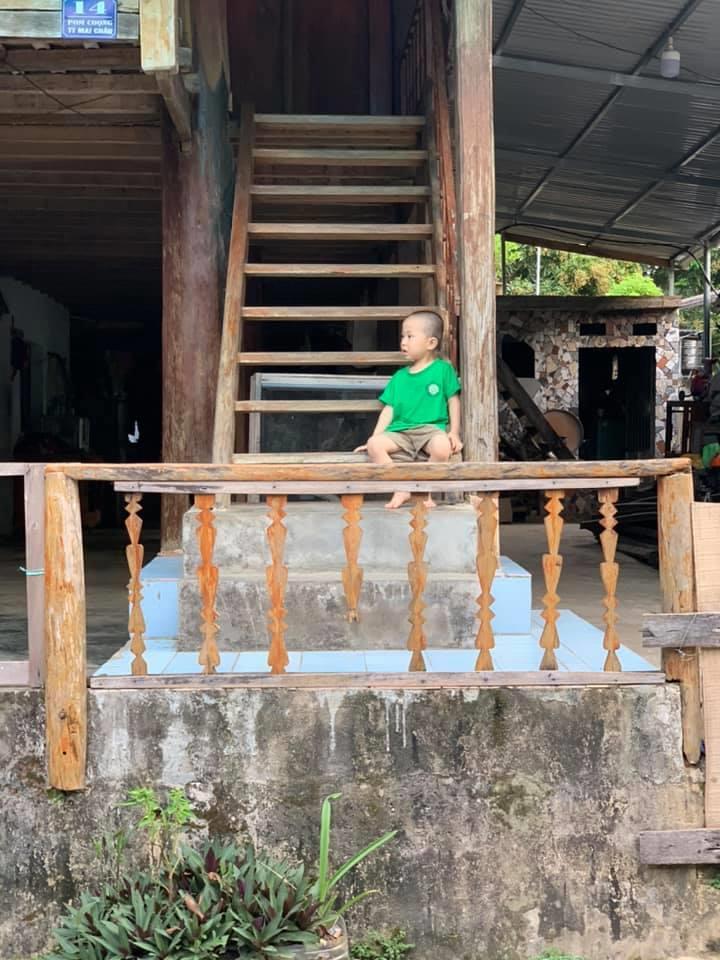 Paul Mooney in Mai Châu, Vietnam