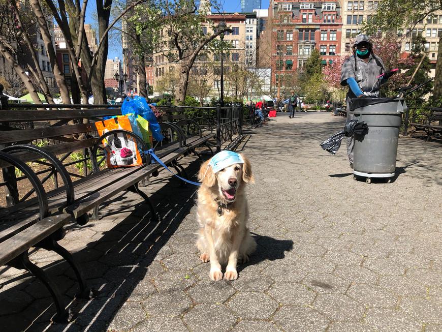 Lena Sinha in New York City