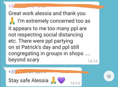 Alessia in Dublin