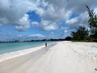 Jan Loubser in Barbados