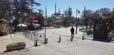 Omar Berakdar in Istanbul, Turkey