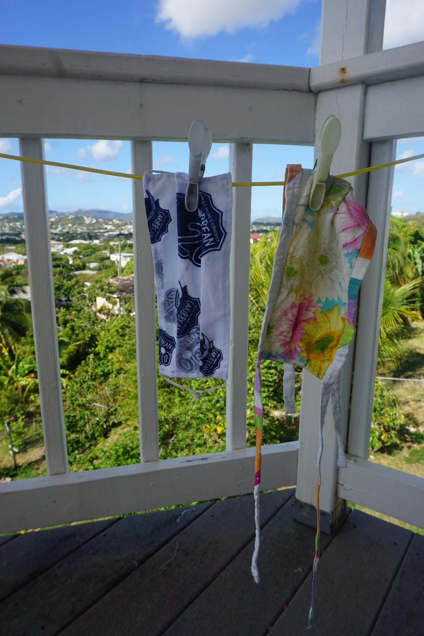 Brenda Lee Browne in Antigua, West Indies