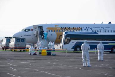 Kaori Ishikawa in Ulanbaatar, Mongolia