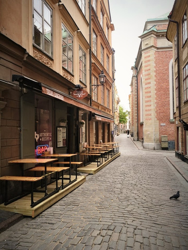 Sanaa Bayartogtokh in Stockholm, Sweden