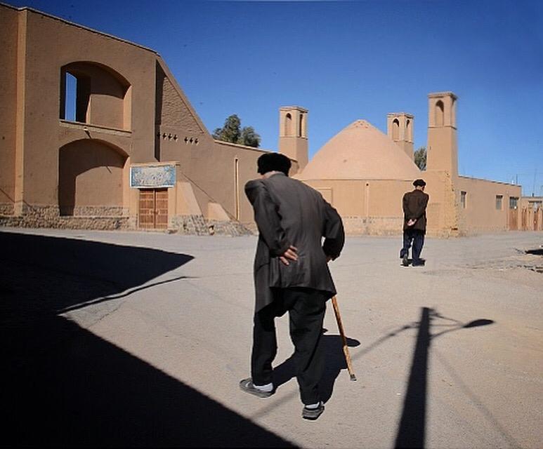 Narges Sinaei in Yazd, Iran