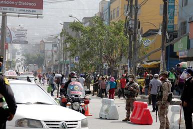 Cosme Aymara Leon in Lima, Peru