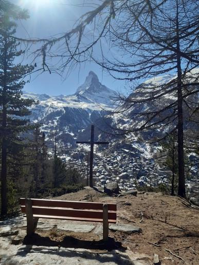 Donna Lusti in Zermatt, Switzerland