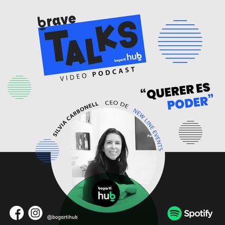 Video podcast para gente inquieta, conducido por Chema Alvarez y como invitada Silvia Carbonell.