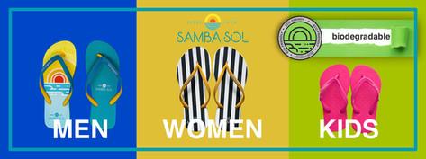 Samba sol Eco Friendly Flip flop Biodegr