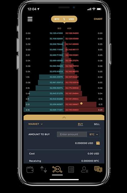 Mobile App for Blockkoin Exchange