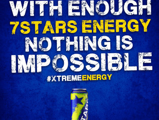 With enough 7Stars Energy nothing is impossible... #XtremeEnergy #BeASTAR