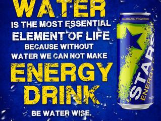BE WATER WISE...  #7StarsEnergy #XtremeEnergy