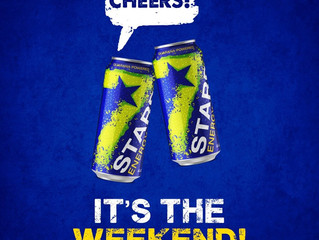 Cheers to the freakin' weekend! #XtremeEnergy