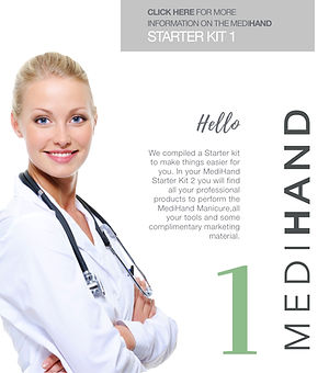 medihand Kit 1 from Elim Spa Products South Africa and Mediheel
