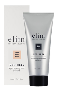 alpha hydroxy acid exfoliant, Elim, best, pedicure, brand, best spa products, luxury, popular spa brand, cracked heel solution, medi pedi, manicure, most popular manicure brand, USA, united states of america